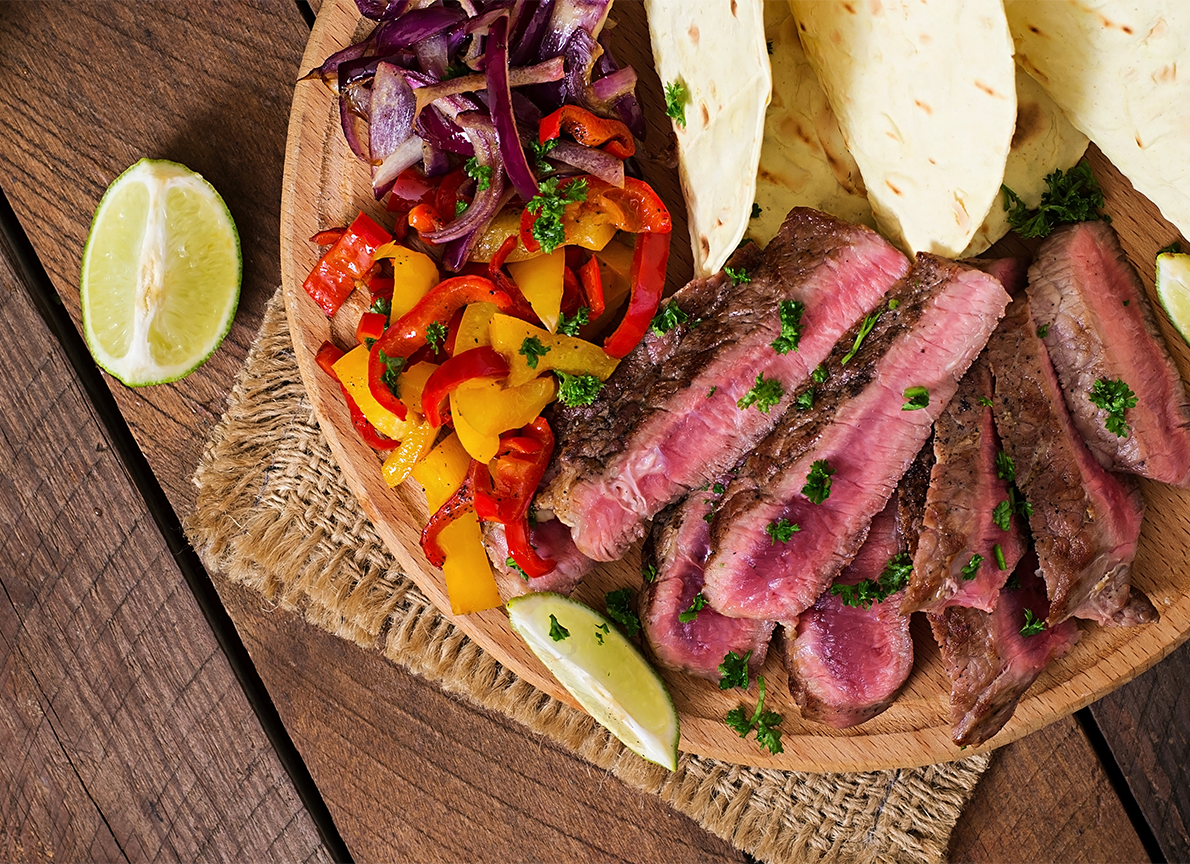 Natural Beef Steak Tacos